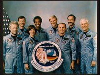 STS-61A crew